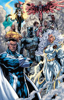 Avengers (New lineup) Colors