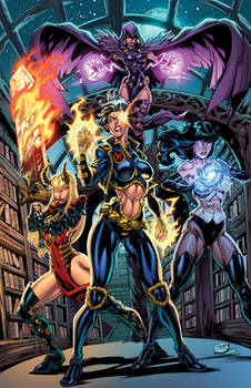 Marvel/DC Mashup: Natalie Grey N the Magic Maidens