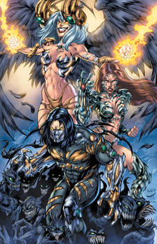 Classic Darkness, Witchblade and Angelus