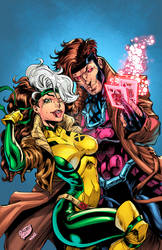 Rogue And Gambit (Mr. And Mrs. X)