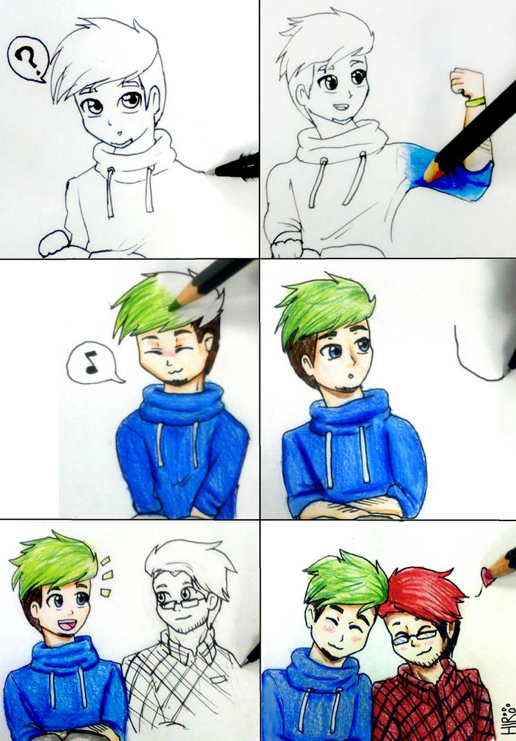 Drawn to Each Other by Hiro-Uzumaki