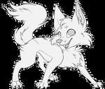 F2U Canine Base Lineart