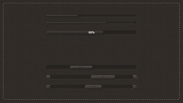 Dark Sliders PSD Pack by slayerD1