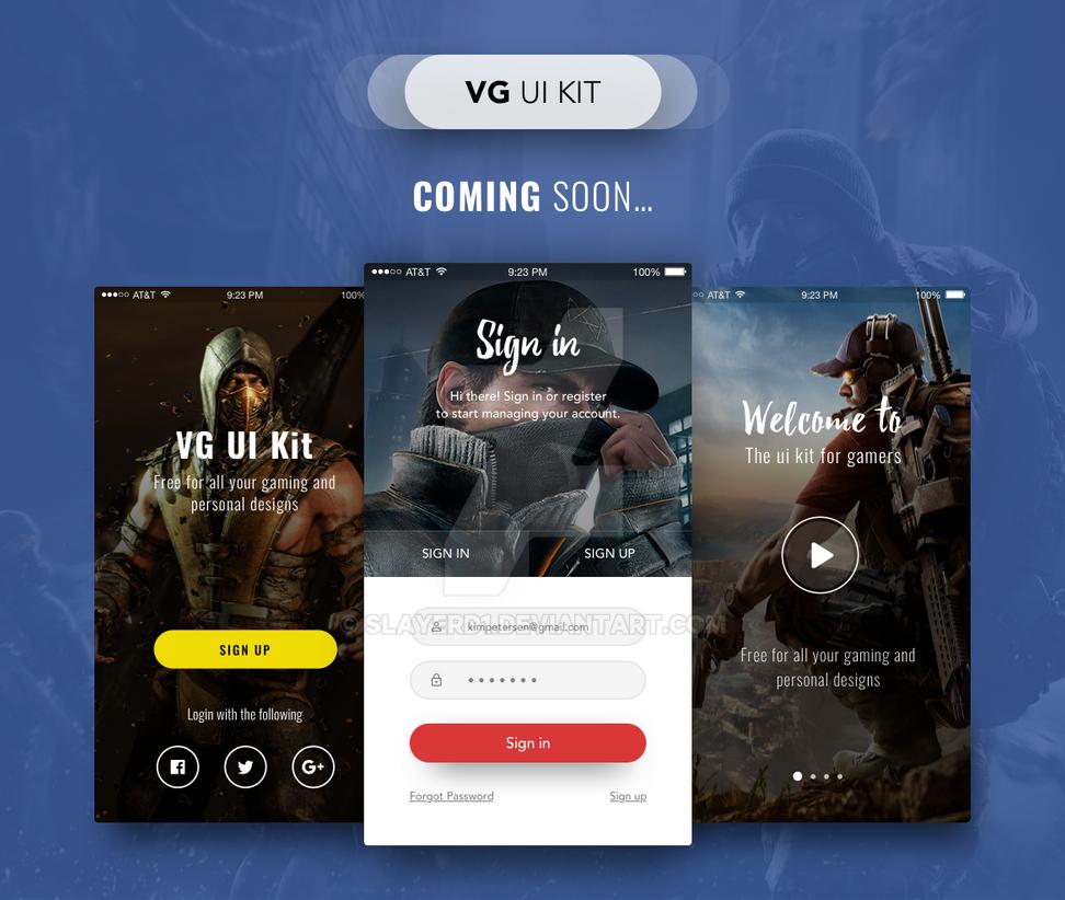 Vg Ui Kit - Coming Soon by slayerD1
