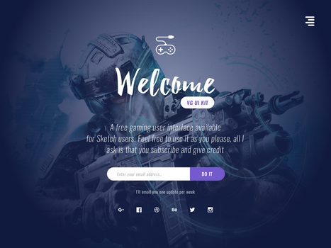 Subscribe Landing Page