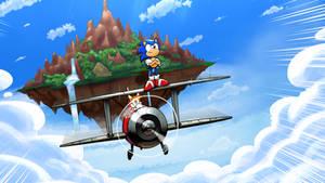 Year of the Hedgehog: Act 1 (Desktop Wallpaper 4K) by PepVerbsNouns
