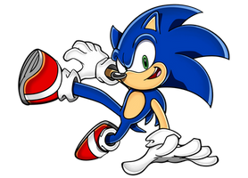 Sonic Adventure-Style Lost World Pose Drawing by PepVerbsNouns