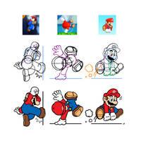 Super Mario Parkour by PepVerbsNouns