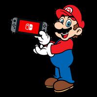 Super Mario x Nintendo Switch - Mario by PepVerbsNouns
