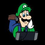 Super Mario x Nintendo Switch - Luigi