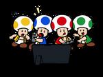 Super Mario x Nintendo Switch - Toad