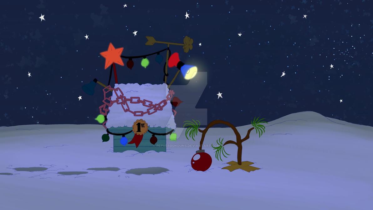 Animation Bg Peanuts Christmas Greeting 33 By Studiopep On