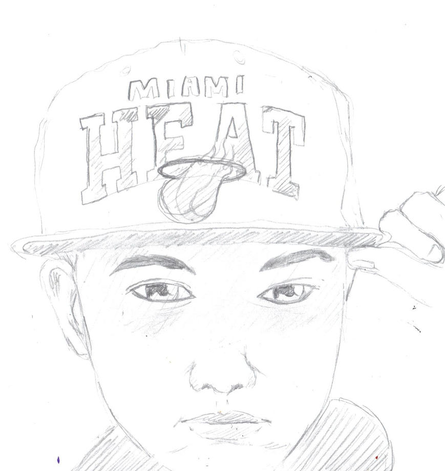 Miami heat by samakowolf on deviantart for Miami heat coloring page