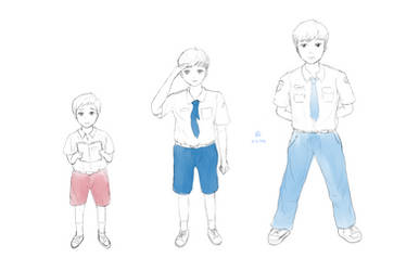 Indonesian School Uniform
