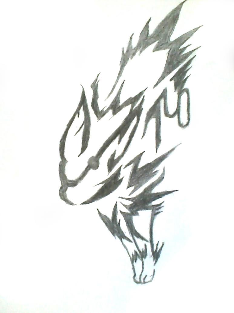 Jolteon tribal tatoo by tarripin