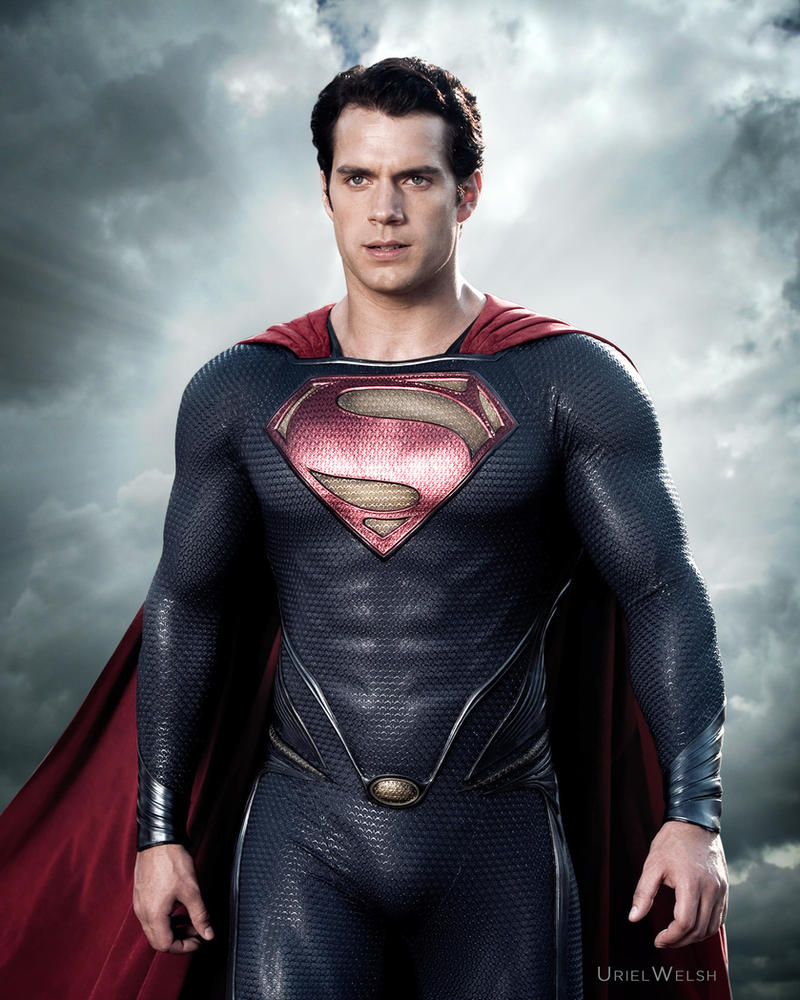 Superman Man of Steel by urielwelsh