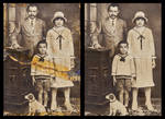 Restoring Damaged Photograph