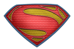 Man of Steel Suit Logo