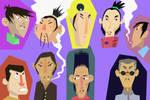 yakuza faces
