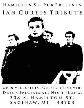 Ian Curtis Tribute 2nd Option