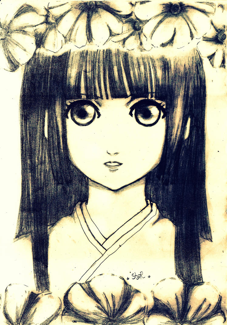 Jigoku Shoujo ~ Enma Ai by StarCrescent