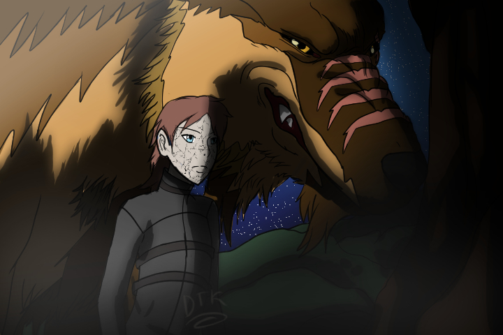Cracked and the werewolf by DockerTweakerKeenan