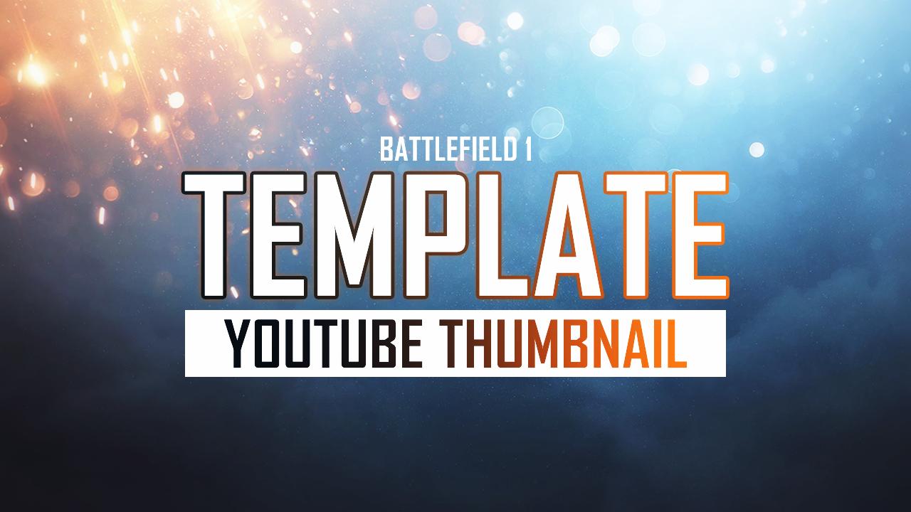 Thumbnail Template. 11 youtube thumbnail templates free sample ...