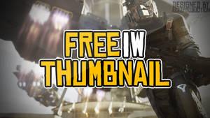 Free Infinite Warfare Thumbnail Template Pack