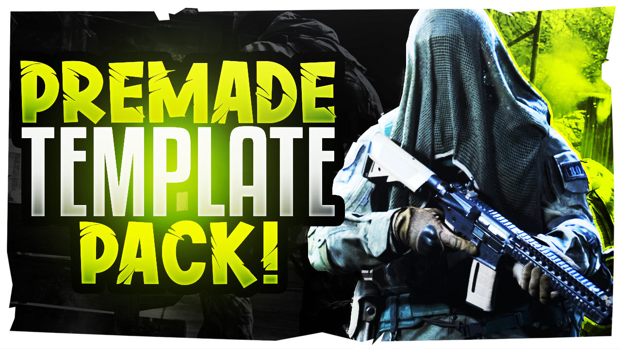 Modern Warfare Youtube Thumbnail Template Pack 4 By Acezproduction On Deviantart