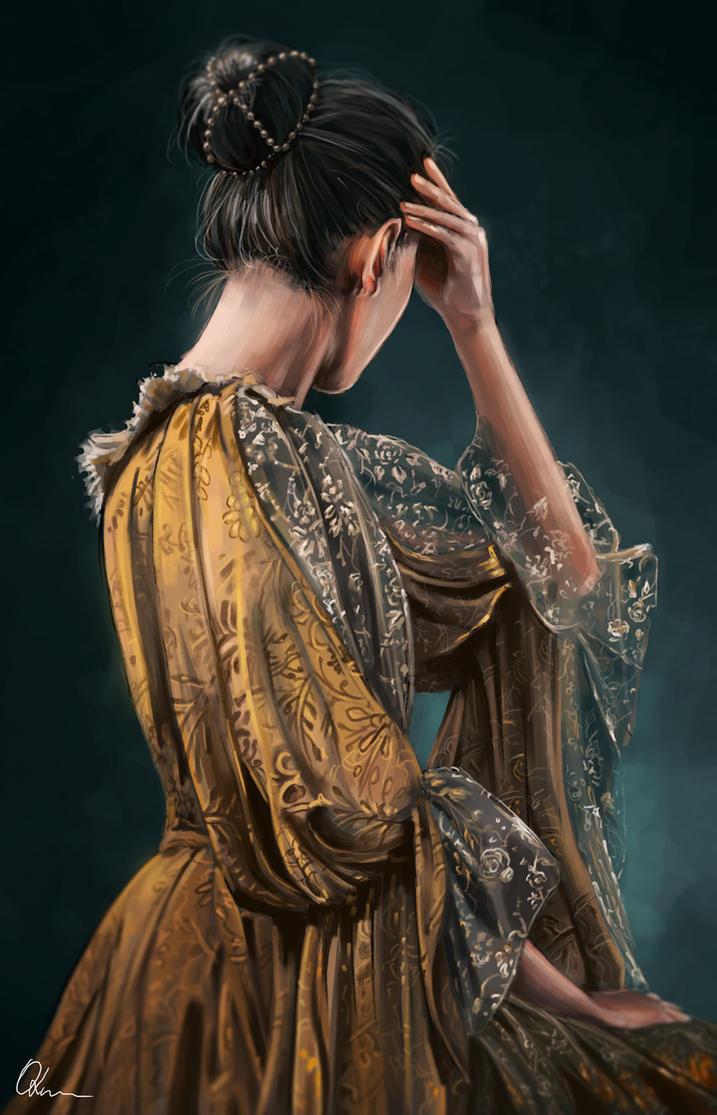 Photo Study Portrait #2 by Savett