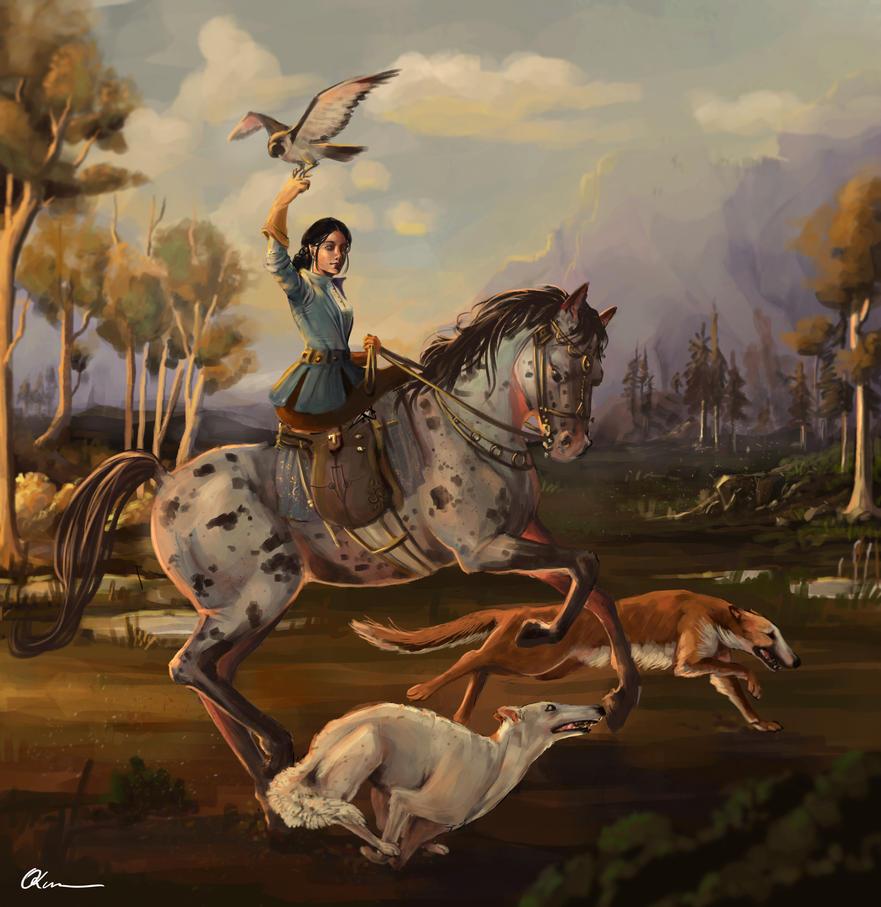 Hunting by Savett