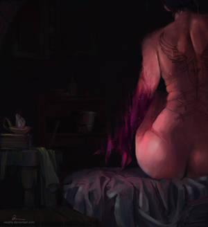 Commission: Nizana - When the madness creeps in