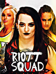 The Riott  Squad by thatguldenfeenix