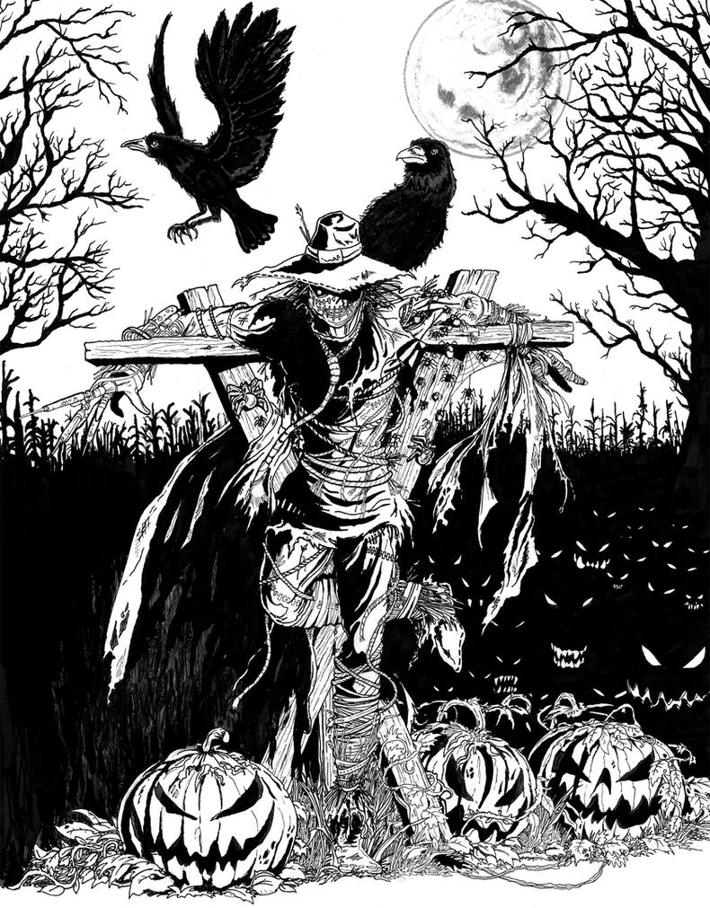 The Scarecrow by TardisTailz700