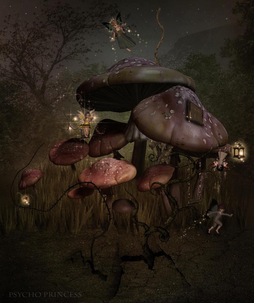 Fairytale Halloween by Psycho--Princess