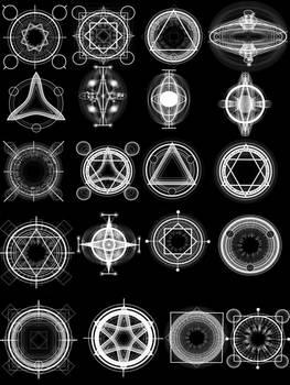Alchemy Magic Circles High Res