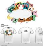 Monstermanic- Tshirt Design