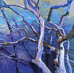 Abstract Nature Oil Painting