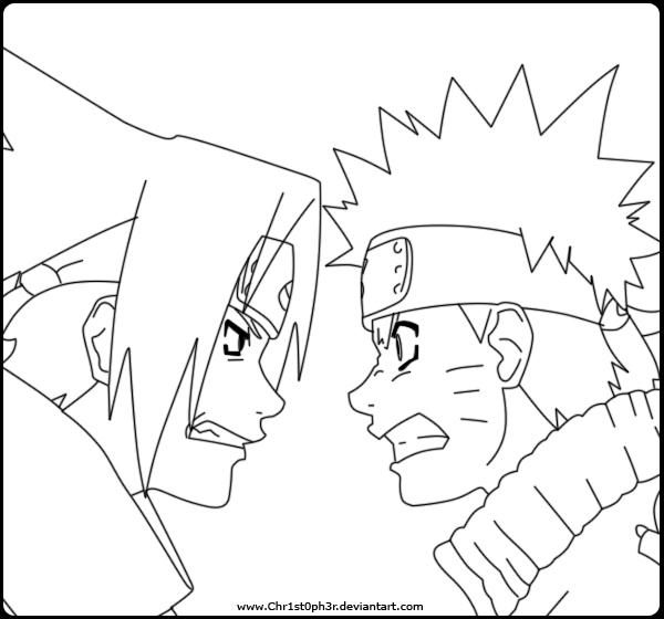 naruto vs sasuke coloring pages - sasuke uchiha shippuden coloring pages coloring pages