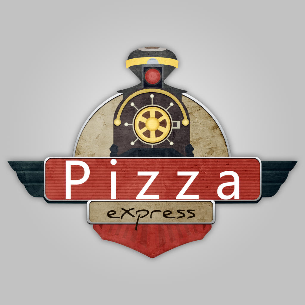 logo pizza express by chrisdoebber on deviantart. Black Bedroom Furniture Sets. Home Design Ideas