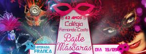 Flyer Masquerade party