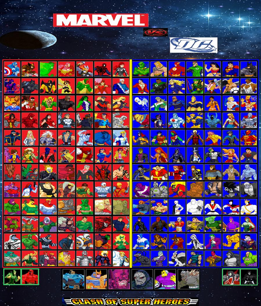 Marvel Comics Liste