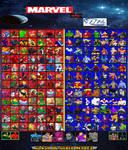 My Marvel Vs DC Comics Roster