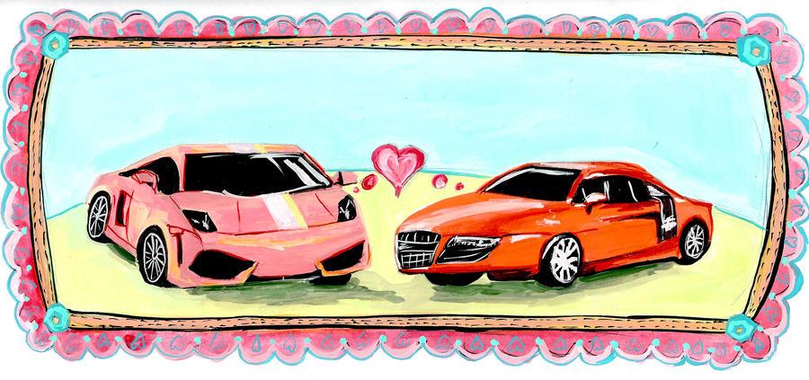 Car Love Rules OK by LemonHobbit