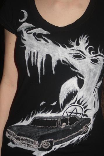 Supernatural Impala Tshirt by LemonHobbit