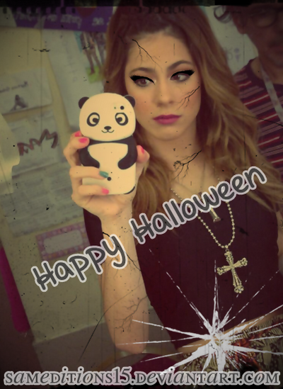 +Make Up | Halloween | Martina Stoessel by SamEditions15