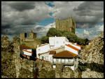 The castle's village