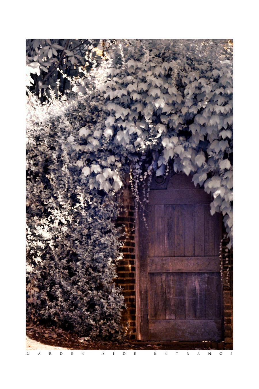 Garden Side Entrance IR HDR by UrbanRural-Photo