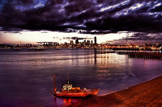 Sinking Ship in Seattle