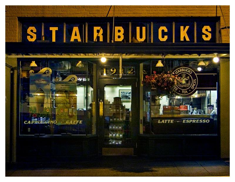 1st Starbucks by UrbanRural-Photo